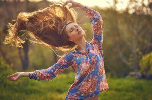 Přírodní péče o vlasy v mé rutinní péči o vlasy